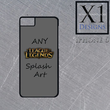 Custom Made League Of Legends Iphone 6 Case LoL Cell Phone Case Iphone 6 Cover Personalized League Of Legends Case Iphone 6 Cell Phone Case