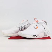 OFF WHITE x ADIDAS NMD Woman Men Fashion Sneakers Sport Shoes