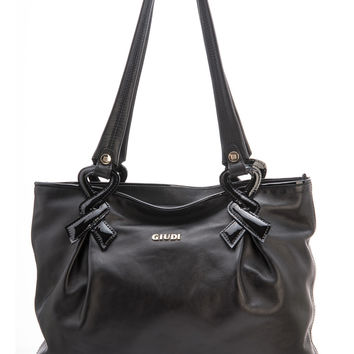 Juliette-Leather Shoulder Handbag