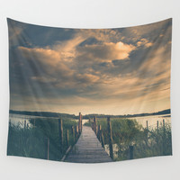 No room for improvement Wall Tapestry by HappyMelvin | Society6