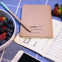 Northbooks A6 Pocket Notebooks | Dots 2 Pack | 64 Dot Grid Pages | Made in USA