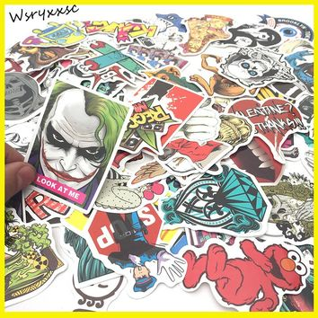 200Pcs Car Styling Sticker Bomb Doodle Stickers Car Covers Skateboard Graffiti Snowboard Motorcycle Bicycle Luggage Accessories