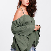 Scenic Route Off-Shoulder Top