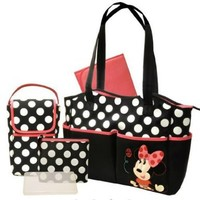 Disney - Minnie 5-in-1 Diaper Bag Set