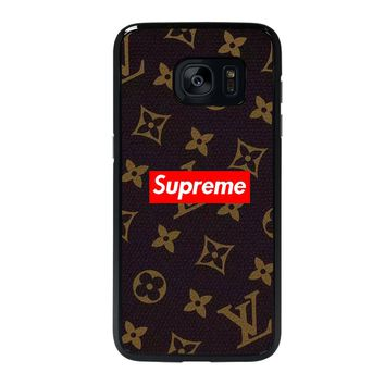 SUPREME BROWN Samsung Galaxy S7 Edge Case