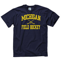 SEARCH New Agenda University of Michigan Field Hockey Navy Sport Tee
