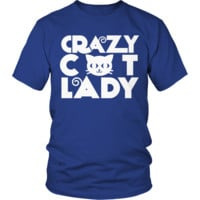 Crazy Cat Lady Tshirt - Limited Edition