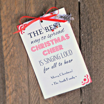 Wine Charm Favors for Christmas & Christmas Parties , Business Holiday Parties , and Corporate Events
