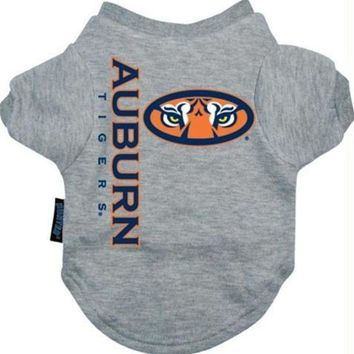 auguau Auburn Tigers Dog Tee Shirt