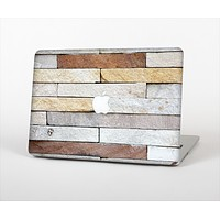 The Multicolored Stone Wall v5 Skin Set for the Apple MacBook Pro 15""