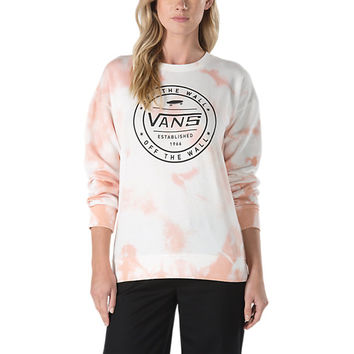 Cloud Wash Crew Sweatshirt | Shop Womens Sweatshirts At Vans