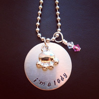 Disney's The Aristocats 'Marie' Inspired Handmade Necklace