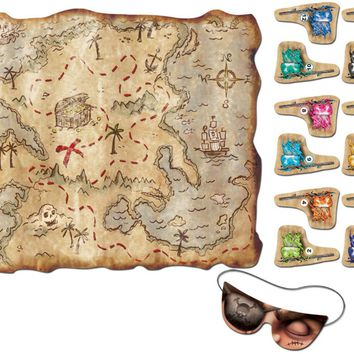 pirate treasure map party game Case of 48