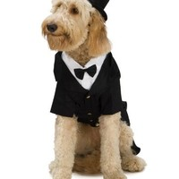 Rubie?s Dapper Dog Pet Costume, Medium