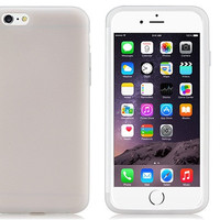 Shell Plastic with Rubber Case for iPhone 6\6s