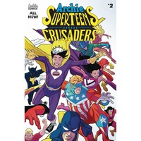 Archies Superteens Vs Crusaders #2 Cvr A Williams Connecting