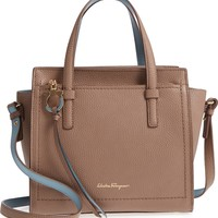 Salvatore Ferragamo Small Leather Tote | Nordstrom