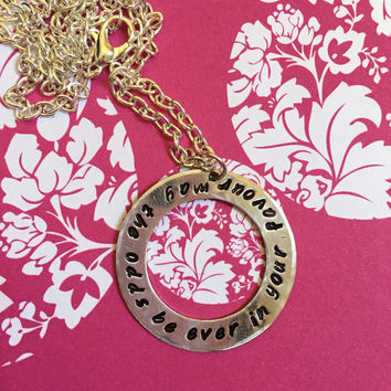 May the odds be ever in your favour The Hunger Games necklace