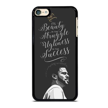 J COLE LYRIC LOVE YOURZ iPod Touch 6 Case Cover