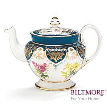 The G. W. Vanderbilt Tea Collection Teapots and Service Sets by Biltmore For Your Home