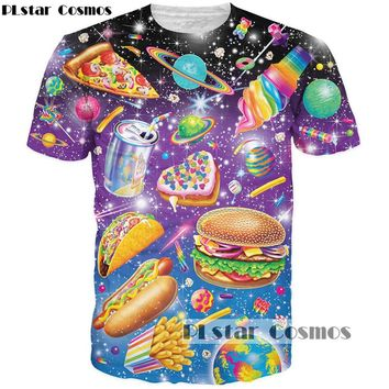 Food T-Shirt Collection Include Hamburger, French Fries, Coke, and Pizza T-Shirt