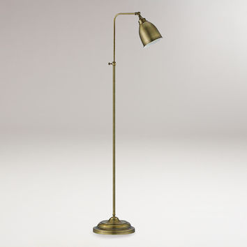 Antique Bronze Pharmacy Floor Lamp - World Market