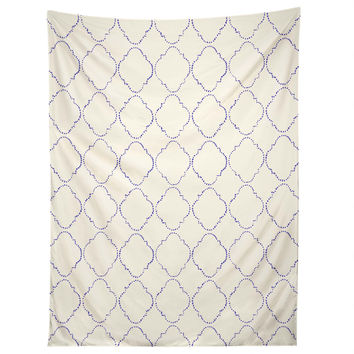 Hadley Hutton Dotty Blue Tapestry