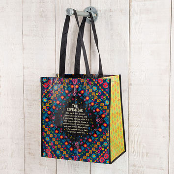 """Large Gift Bag """"The Giving Bag..."""" by Natural Life"""