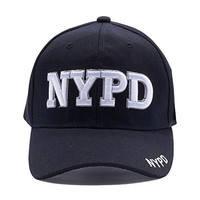 Law Enforcement NYPD Logo Cap (Black)