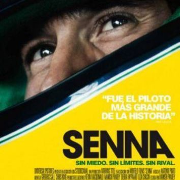 Senna Italian movie poster Sign 8in x 12in