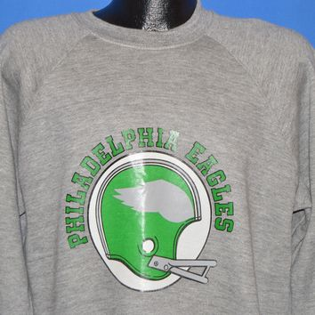 80s Philadelphia Eagles Sweatshirt Large