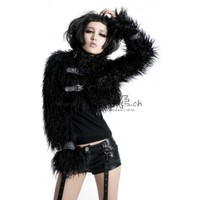 Visual Kei fur coat - Punk Rave