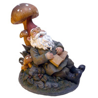 Park Avenue Collection Booker Snoozing Garden Gnome
