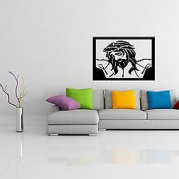 Christianity Wall Decal Jesus Christ Son of God Prayer Wall Sticker Decal 3703