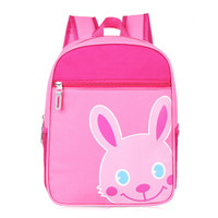 Pink Rabbit Double-straps Backpack