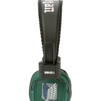 Attack On Titan Scout Regiment On-Ear Headphones