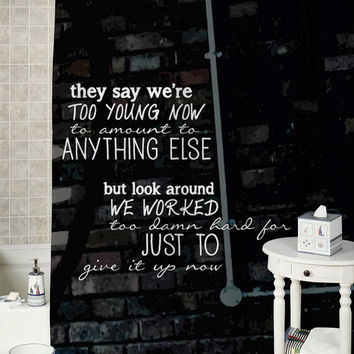 Best adorable shower curtains products on wanelo for 5sos room decor ideas