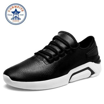 Time-limited Brand Running Shoes for Men Breathable Sneakers Lace-up Sport Men's Walki