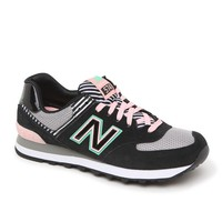 New Balance 574 Palm Springs Collection Sneakers - Womens Shoes - Black