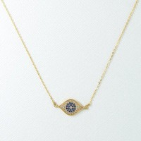 VANESSA MOONEY | Little Evil Eye Necklace