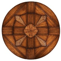 Jupe table with self storing leaves, solid walnut center pops up and leaves manually fold out (very cool table)