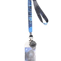 Licensed cool Studio Ghibli Howl's Moving Castle Blaze Sophie Quote Lanyard ID Card Holder NEW
