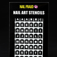 Urban Outfitters - Nail Fraud Nail Stencils