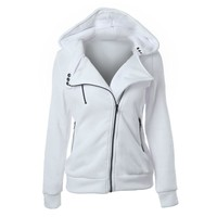 Winter Jacket Women Coat Casual Girls Basic Jackets Zipper Cardigan Sleeveless Jacket Female Coats