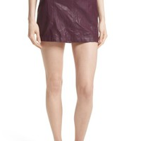 Free People Modern Femme Faux Leather Miniskirt | Nordstrom