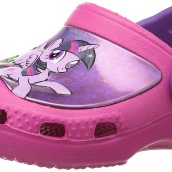 crocs Girls' CC My Little Pony Clog Candy Pink Toddler (1-4 Years)