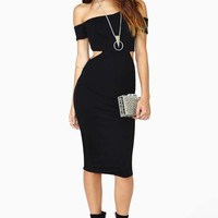 Nasty Gal Strayer Cutout Dress