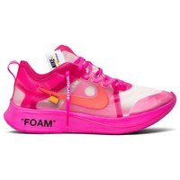 Tulip Pink Nike Zoom Fly by OFF-WHITE
