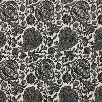 Kasmir Fabric Turtle Bay Noir