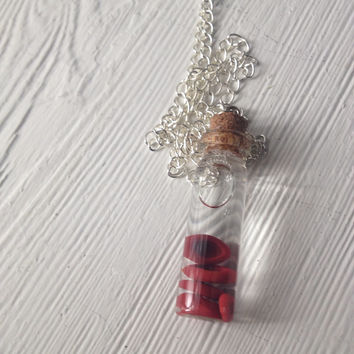 Red Blood Cells in a Bottle